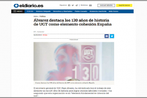 UGT 130 aniversario