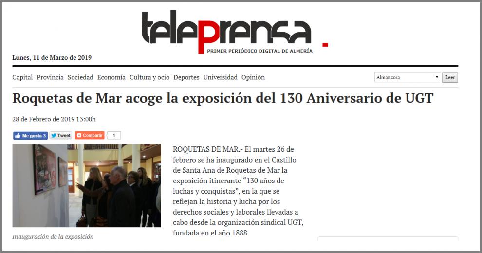 130 años UGT