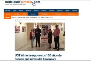 """Exposicion """"130 Aniversario"""" de UGT Almeria"""